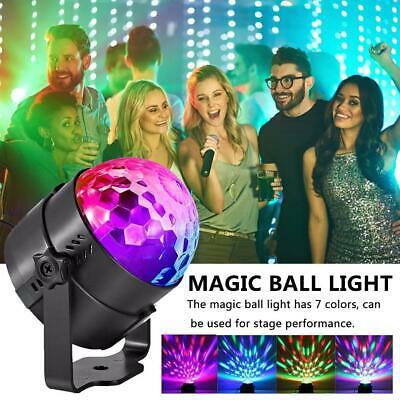 RGB DJ Disco Stage Light Remote Control LED Ball Laser Projector Lamp KTV Party