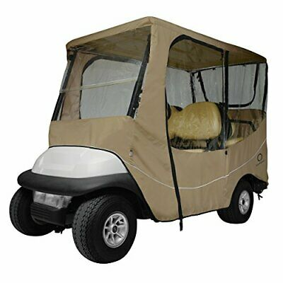 Classic accessories Fairway Golf Cart Voyage Boitier, Kaki, Long Toit