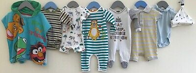 Baby Boys Bundle 0-3 Next Mothercare Newcastle United H&M George <H9023