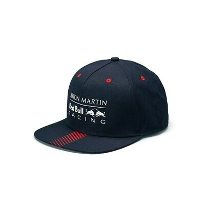 GENUINE Aston Martin Red Bull Racing 2019 F1 Official Classic - Flat Brim Cap