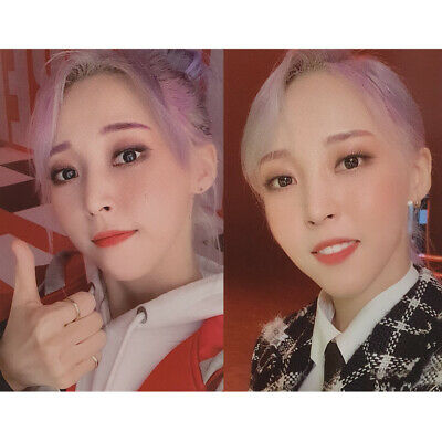 MAMAMOO Moonbyul Official Photo Card 2nd Full Album reality in BLACK HIP