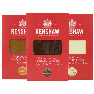Renshaw Confectionery Ready to Roll Icing - Sugarpaste Fondant Icing 1KG