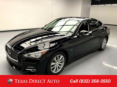 2015 Infiniti Q50  Texas Direct Auto 2015 Used 3.7L V6 24V Automatic RWD Sedan Premium