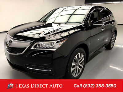 2016 Acura MDX FWD w/Technology Package Texas Direct Auto 2016 FWD w/Technology Package Used 3.5L V6 24V Automatic FWD