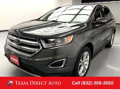 2018 Ford Edge Titanium Texas Direct Auto 2018 Titanium Used Turbo 2L I4 16V Automatic AWD SUV Premium