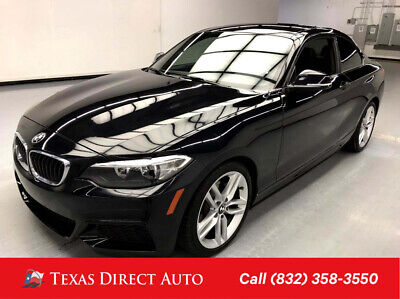 2016 BMW 2-Series 228i Texas Direct Auto 2016 228i Used Turbo 2L I4 16V Automatic RWD Coupe Premium
