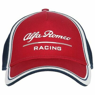 2019 Alfa Romeo Racing F1 Team Baseball Cap Cotton Hat Red Adults One Size