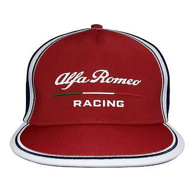 2019 Alfa Romeo Racing F1 Team Flat Brim Cap Cotton Hat Red Adults One Size
