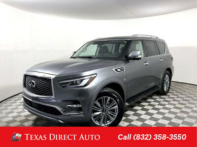 2018 Infiniti QX80  Texas Direct Auto 2018 Used 5.6L V8 32V Automatic AWD SUV Premium Bose