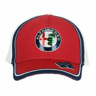 2019 Alfa Romeo Racing F1 Team Antonio Giovinazzi AG99 Curved Brim - KIDS Cap