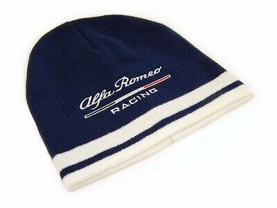 OFFICIAL 2019 Alfa Romeo Racing F1 Team Travel Beanie hat - Adults