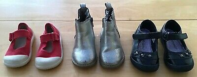 Girls Shoe Bundle UK 5-6 Infants Gap Zara Chatterbox <H9039