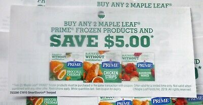 Save On Maple Leaf Prime Frozen Products