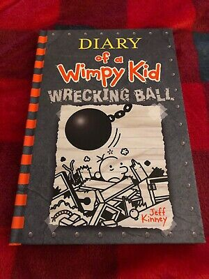 Diary of a Wimpy Kid Wrecking Ball NEW Hardbound November 2019 Book 14