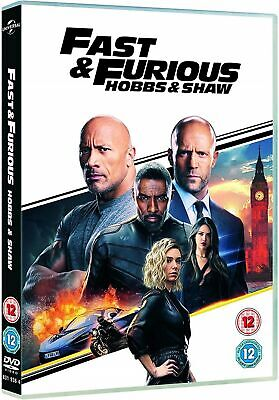 Brand New & Sealed Fast & Furious Presents Hobbs & Shaw DVD Free Postage
