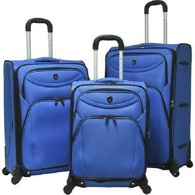 3 Piece Luggage Set Travel Trolley Suitcase ABS+PC Nested Set