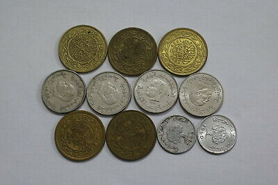 Tunisia Old Coins Lot Some High Grade B24 Wu49