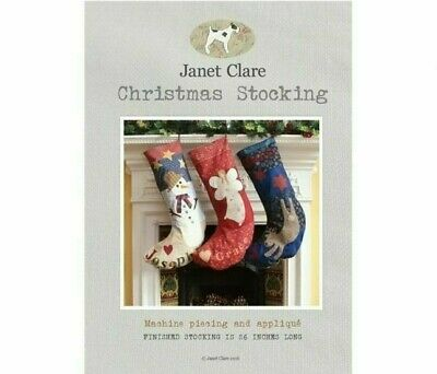 """6 /"""" by 4.5/"""" Bareroots Sewing Pattern Little Christmas stockings embroidered"""