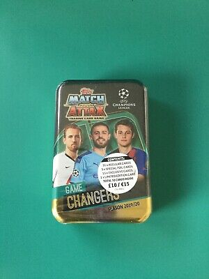 Topps Match Attax 2019/20 Champions League - Kane England on Big Tin of Cards