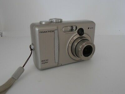 Praktica camera DCZ 5.2  Digital Camera Silver