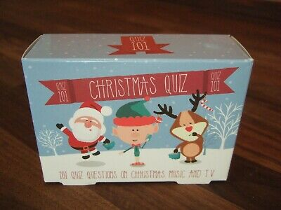 101 80/'s 90/'s Music Quiz After Dinner Party Game Christmas Stocking Filler Gift