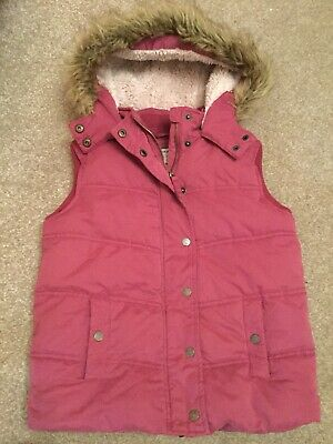 Fat Face Girls Gilet / Bodywarmer - AGE 10-11 Cosy And Warm For Winter