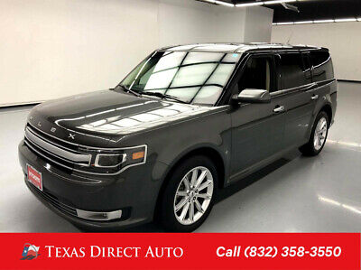 2019 Ford Flex Limited Texas Direct Auto 2019 Limited Used 3.5L V6 24V Automatic AWD SUV