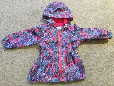 BABY GIRLS BEAUTIFUL LITTLE RAIN COAT JACKET AGE 9-12M Mothercare.