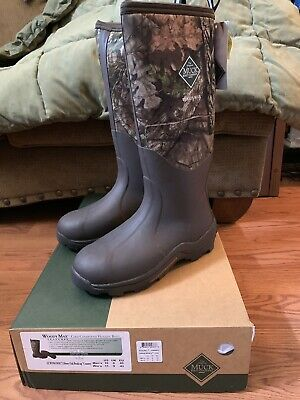 Muck Woody Max Cold Conditions Hunting Boot Mossy Oak men's sz 10 new in box