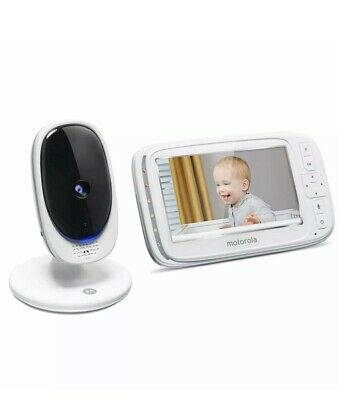 "Motorola Comfort 50 Video Baby Monitor with 5"" Color Display Zoom Night Vision"
