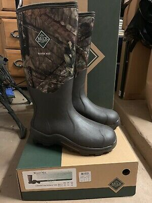 Muck Woody Max Cold Conditions Hunting Boot Mossy Oak men's sz 12. new in box