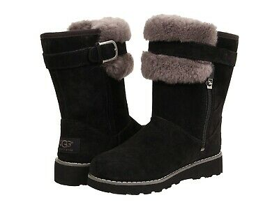 Ugg Australia Skylir Black Grey 1008857K  Youth / Kids / Women Boot NEW