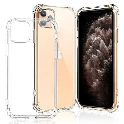 Case fr iPhone 11 Pro XS MAX 7 8 Plus XR ShockProof Soft Phone Cover TPU Silicon