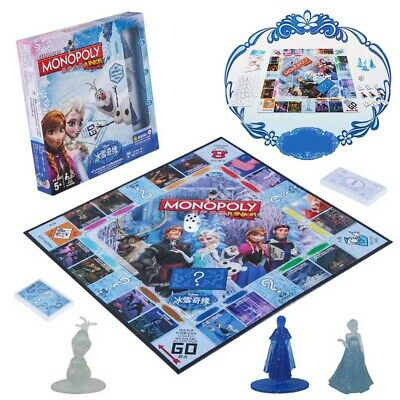 Monopoly Frozen II Board Game  Family Fun Christmas Gift Party Birthday Group