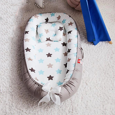 Newborn Portable Crib Infant Cot Crib baby basket cotton Cradle travel Baby Bed