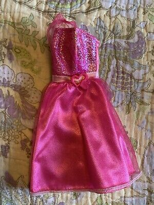 Barbie Doll Fashion Outfit Fashionistas Dress ~ Sweet Hot Pink
