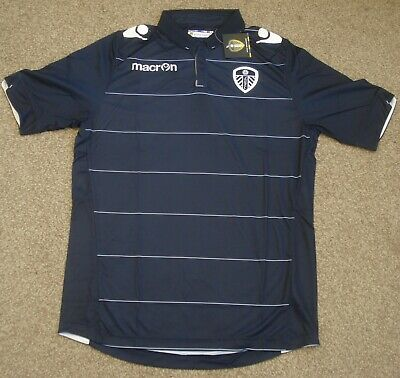 BNWT Medium Leeds United Away Shirt Macron