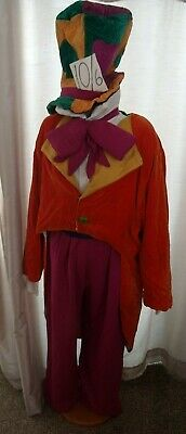 UNIQUE Handmade Mad Hatter costume - one size fits most S/M/L