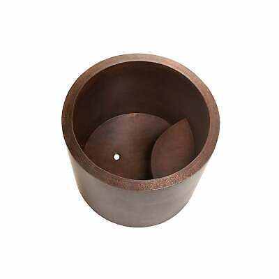 Premier Copper Products 45-inch Japanese Style Soaking Hand Brown
