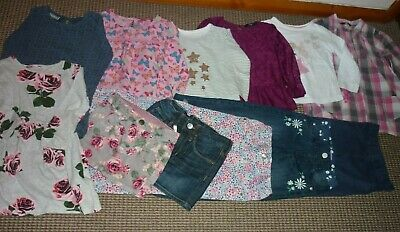 Large Girls Clothes Bundle age 3-4yrs  Jeans Skirt Dress Tops Trousers Jeggings