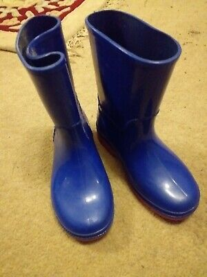 Clarks Blue Wellies Infant Size 9.5