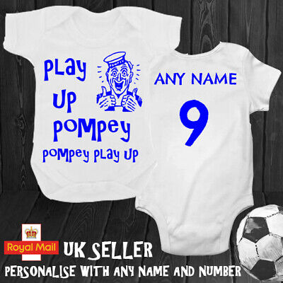 """Portsmouth /""""Play Up Pompey/"""" A4 Framed Colour Song Poster Print"""