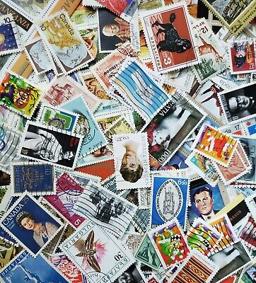 1000s DIFFERENT Mint/Used WORLDWIDE Stamps Collection Lot Packs of 100+