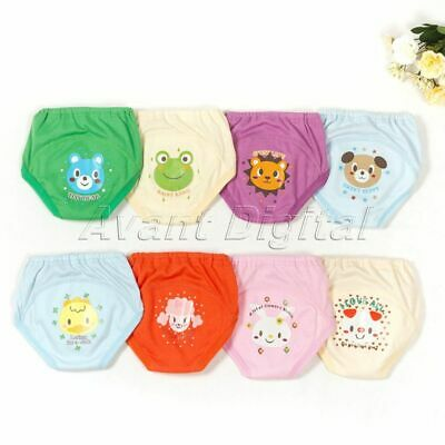 Reusable Cotton Leakproof Diaper Cover Panties Baby Legging Potty Training Pants