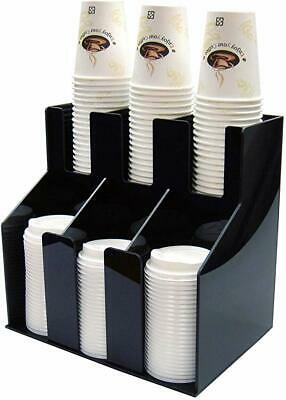 Winco CLO-3D 2 Tiers 3 Stacks Cup & Lid Organizer