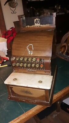 National Cash Register 711 Small Countertop Antique VTG Country Store