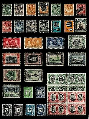 RHODESIA Northern & Sothern StTAMP COLLECTION  George V to QEII Ref:QP580a
