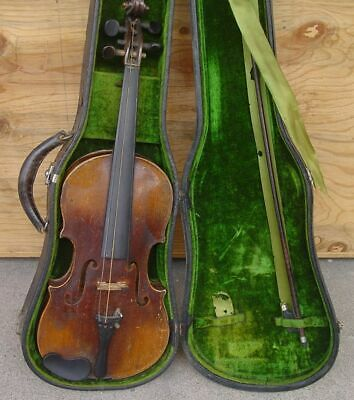 ESTATE FRESH! Old Antique STAINER 4/4 VIOLIN -- Ready to Restore!