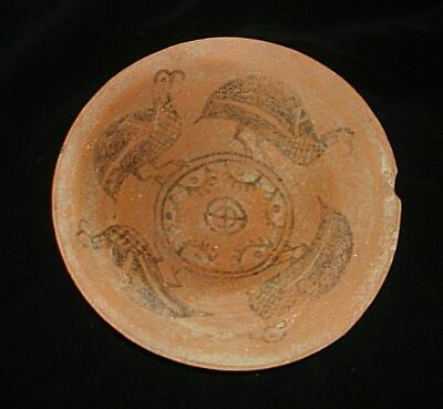 Amazing!!   Ancient Painted Birds Bowl~3000Bc  Early Bronze Age Neolithic