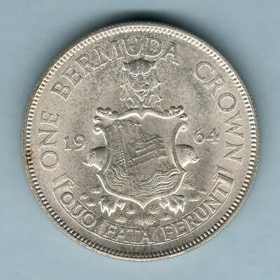 Bermuda. 1964 Crown..  UNC